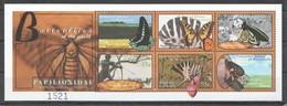 A924 2000 MICRONESIA FLORA & FAUNA BUTTERFLIES OF THE WORLD 1KB MNH - Schmetterlinge