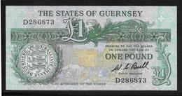 Guernesey-  1 Pound - Pick N°48a - SPL - Guernsey