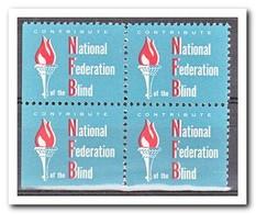 Amerika, Postfris MNH, National Federation Blind ( Left And Under Imperf. ) - Machine Stamps (ATM)