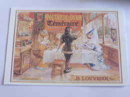 Moutarde De Dijon - B. Louvrier - Reclame