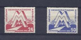180029527  ALEMANIA  DDR  YVERT  Nº 34/5  **/MNH - [6] República Democrática