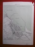 BONE 1886 ATLAS DES PORTS ETRANGERS Dim 24.5 X 33 Cm - Cartes Marines