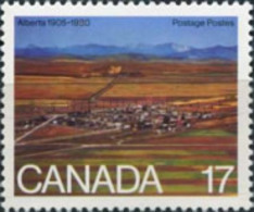 Canada 1980 - One 75th Anniversary Saskatchewan Province Celebrations Geography Places Stamp MNH SG#989 - 1952-.... Reign Of Elizabeth II