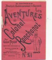 """Revue """"Aventures Du Colonel Ronchonot""""- Gustave Frison  N°974 ( Défaut Voir Scan) - Books, Magazines, Comics"""