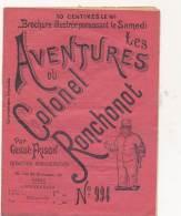 """Revue """"Aventures Du Colonel Ronchonot""""- Gustave Frison  N°994 - Books, Magazines, Comics"""