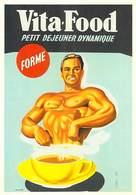 PUB Publicité NUGERON J 117  VITA FOOD (forme) (d'après Affiche E-Gaillard - Bibliothéque Fornay)*PRIX FIXE - Advertising