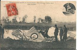 Vosges - EPINAL 88 - Chute Mortelle Du Caporal Aviateur D'Autroche (20 Octobre 1913) - - Epinal