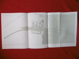 PORT SAID 1885 ATLAS DES PORTS ETRANGERS Dim  71 X 33 Cm - Nautical Charts