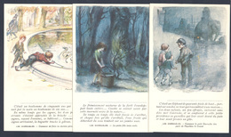 A Victor Hugo 1927 Lot Des 5 Cartes Différentes Signées Poulbot + Document - Poulbot, F.