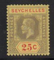 Seychelles 1917 Yvert 81 ** TB - Seychelles (...-1976)