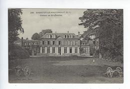 CPA Fécamp Sassetot Le Mauconduit Château De Briquedalles - Fécamp