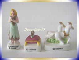 Le Bal De Cendrillon Mat ...lot De 3 Fèves...  Ref AFF : 19-2006 ..( Pan 0029) - Disney
