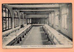 CPA - BELGIQUE - DOTTIGNIES - PENSIONNAT SAINT CHARLES - LE REFECTOIRE EN 1920 - Moeskroen