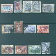 ZANTE - 1941 - USED/OBLIT. - Sa 5-17  Mi 5-17 - Lot 16959 6D IS NOT PRESENT 20L 2 OVERPRINTS -1970 EUR Sa QUOTATION !!! - Bezetting 2° Wereldoorlog (Italië)