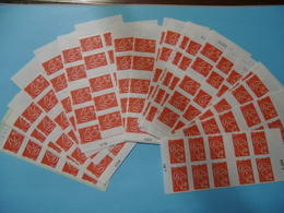 FRANCE FACIALE  209 EUROS/220 TIMBRES A VALIDITE PERMANENTE SUP - Collections