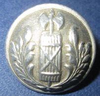 Bouton Police A La Françisque-Vichy/Occupation - 1939-45