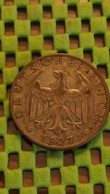 2 Reichsmark ( 1925 - 1931 ) Silb - 1927 A - [ 3] 1918-1933 : Weimar Republic