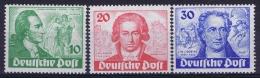 Berlin Mi 61 - 63 Yv 51 - 53 Postfrisch/neuf Sans Charniere /MNH/**  30 Pf Gum Fold - Unused Stamps