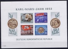 DDR  Mi 8B + 9B Postfrisch/neuf Sans Charniere /MNH/** - Blocks & Kleinbögen