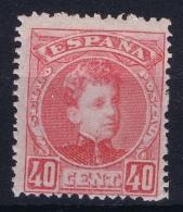 Spain  Mi  219 Ed 251  Yv  221   MH/* Flz/ Charniere - 1889-1931 Königreich: Alphonse XIII.