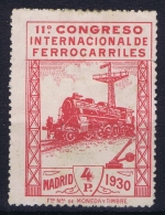 Spain  Mi  455 Ed 480  Yv 440  Not Used (*) SG 1930 - Ungebraucht