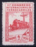 Spain  Mi  455 Ed 480  Yv 440  MH/* Flz/ Charniere 1930 - 1889-1931 Königreich: Alphonse XIII.