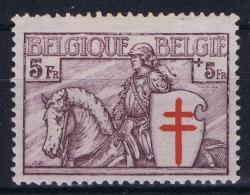 Belgium:  OBP 400 MH/* Flz/ Charniere  1934 TBC - Belgique