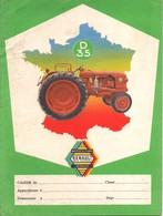 PROTEGE CAHIER TRACTEUR RENAULT D 35 - Agriculture