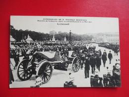 CPA FUNERAILLES DE MR MAURICE BERTEAUX MINISTRE DE LA GUERRE LE CERCUEIL - Funérailles