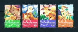 Islas Cocos (Keeling)  Nº Yvert  327/30  En Nuevo - Cocos (Keeling) Islands