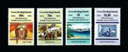 Islas Cocos (Keeling)  Nº Yvert  199/202  En Nuevo - Cocos (Keeling) Islands