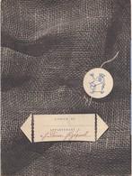 PROTEGE CAHIER TOILE DE JUTE - Buvards, Protège-cahiers Illustrés