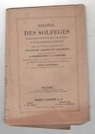 SOLFEGE DES SOLFEGES POUR VOIX DE SOPRANO DE HENRY LEMOINE & G. CARULLI - Musique & Instruments