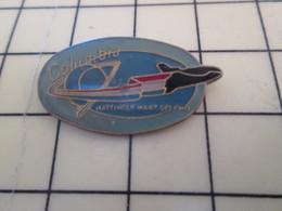 Pin411c Pin's Pins / Beau Et Rare : Thème ESPACE / NAVETTE SPATIALE COLUMBIA MISSION MATTINGLY Etc .... - Space