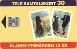 Aland - AX-ALP-0009, Stamps Of Åland, 26.000ex, 11/93, Mint - Aland