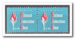 Amerika, Postfris MNH, National Federation Blind ( Left Imperf. ) - Machine Stamps (ATM)