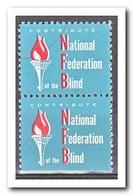 Amerika, Postfris MNH, National Federation Blind ( Under Imperf. ) - Machine Stamps (ATM)