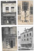 Lot De 4 Cartes Photos à Localiser - Cartes Postales