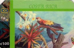 TARJETA TELEFONICA DE COSTA RICA. (PREPAGO). MURAL ECOLÓGICO Nº1. 028. - Costa Rica