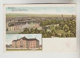 CPA PIONNIERE KAISERSLAUTERN (Allemagne-Rhénanie Palatinat) - Gruss Aus .....2 Vues - Kaiserslautern