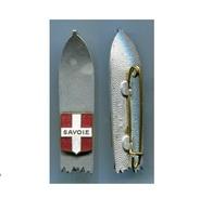 D78 INSIGNE SKI MONTAGNE SAVOIE A. AUGIS LYON 12X50 MM - Insignes & Rubans