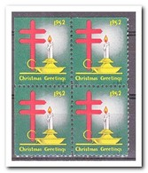 Amerika 1952, Postfris MNH, Christmas ( Above And Left Imperf. ) - Machine Stamps (ATM)