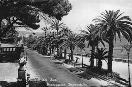 Cartolina San Remo Passeggiata Imperatrice 1963 - Imperia
