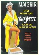 PUB Publicité NUGERON J 88-Maigrir  BIO SVELTE 1957  (d'après Affiche E-Gaillard-Bibliothéque Fornay)*PRIX FIXE - Publicité