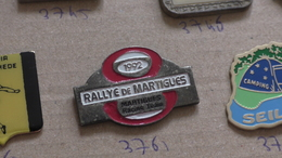 RALLYE DE MARTIGUES 1992 - Automobile - F1