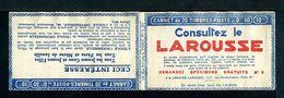 Carnet Semeuse N°199 - Couverture Vide -  Série 214-B - Nombreux Thèmes. - Carnets