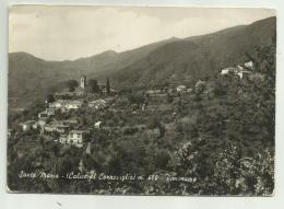 SANTA MARIA ( CALICE AL CORNOVIGLIO ) PANORAMA   VIAGGIATA FG - La Spezia
