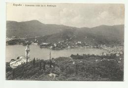 RAPALLO - PANORAMA VISTO DA S.AMBROGIO - NV FP - Genova (Genua)