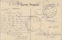 Menin   -   L'Ecluse   --   Militaria   1915  Naar  Molsheim - Guerre 1914-18