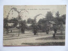 (Val D'Oise - 95)  -  SANNOIS  -  Le Jardin Public  -  Les Allées Fleuries - Sannois